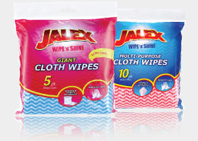 jalex multi purpose cloth wipes